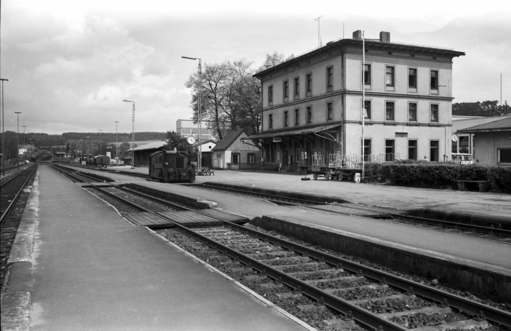 Bahnhof Pegnitz, ca. 1975