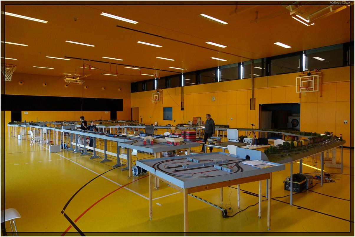 7. Modellbahn-Ausstellung in der Wiesweiherhalle in Pegnitz