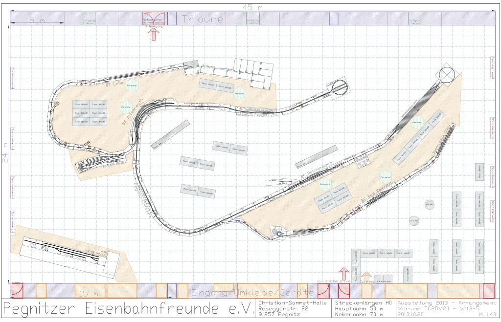 6. Modellbahn-Ausstellung - Arrangement 2013