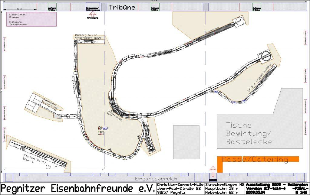4. Modellbahn-Ausstellung - Arrangement 2009