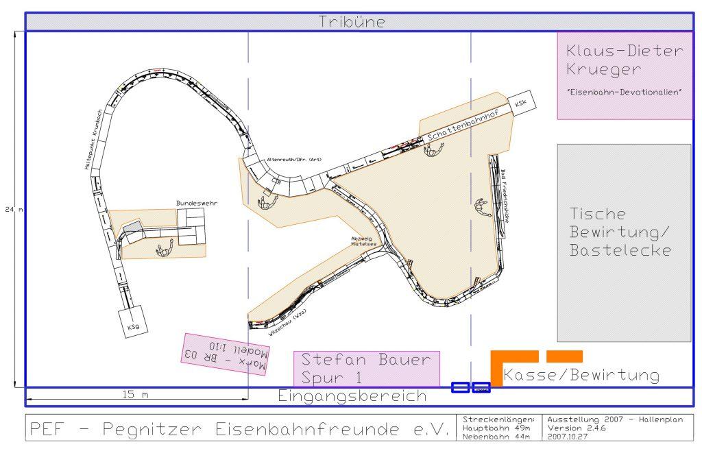 3. Modellbahn-Ausstellung – Arrangement 2007