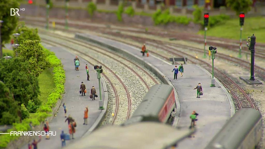 Bericht von BR Franken (Frankenschau) zur 8. Modellbahn-Ausstellung der Pegnitzer Eisenbahnfreunde