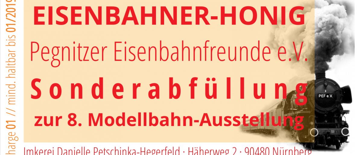 Sonderabfüllung EISENBAHNER-HONIG der Imkerei Petschinka-Hegerfeld