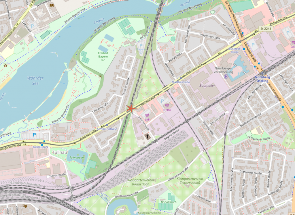 Foto-Position Ostendstr.