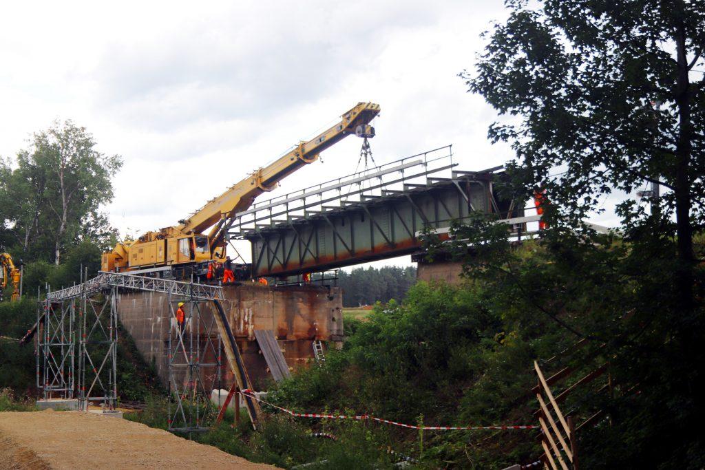 Brückenausbau bei Michelfeld