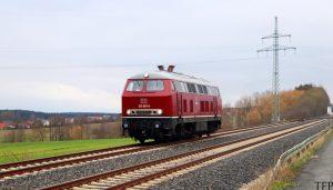 215 001 der IGE bei Schnabelwaid