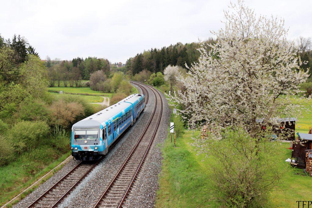 """628 423 """"Bahnland Bayern"""""""